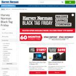 Harvey Norman Online Black Tag Friday Sale (E.g. Samsung 3.1 Channel Series 5 Soundbar $299)