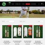 Cricket Gear Sale - SFC Players Edition Cricket Bat from $499 - up to 35% Discounts Store Wide @ Smashing Frog Cricket