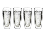650ml Double Wall Glass Cups - Set of 4 - $24.99 (normally $44.99)