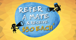 $50 Cashback for Becoming a Member of BorderBank via The Refer a Mate Promotion