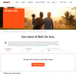 Adelaide to Bali from $165 One Way @ Jetstar