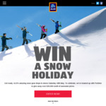 Win a Perisher Family Snow Trip Worth Over $8,000 or 1 of 23 Perisher Weekends/Ski Passes/Gift Cards from ALDI