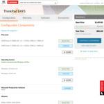 """ThinkPad E495 (14"""" FHD/Ryzen 5 3500U/8GB/512GB NVMe) $881; E595 (15.6"""" FHD/Ryzen 5 3500U/8GB/512GB+1TB) $935 @ Lenovo AU"""