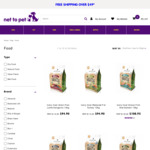$20 off Any Ivory Coat Dog Food 13kg (Starting from $74.90) + Delivery (Free in Select Areas) @ Net to Pet