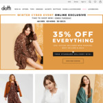 35% off Sitewide (Items Starting at $1.95) + Free Delivery with No Minimum Spend @ Dotti