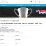 Win a Trip to the 2019 Toyota AFL Grand Final for 4 Worth $21,000 from Simply Energy