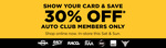 30% off @ Repco (Auto Club Membership Required)