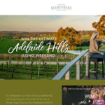 Win a Getaway to the Adelaide Hills for 2 from Beerenberg