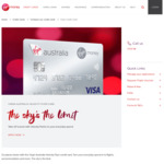 Virgin Credit Card - 60k Velocity Points with $4500 Spend over 3 Mnths ($64 First Year, $129 Thereafter) - $129 Voucher Per Year