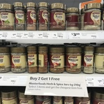 Buy Two Masterfoods Spices, Get One Free Spices at Coles