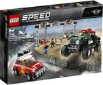 LEGO Speed Champions 1967 Mini Cooper S Rally and 2018 MINI John Cooper Works Buggy - 75894 $39 at BigW