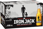 A Case of Iron Jack Lager 330ml (24 Bottles) for $10 @ BWS Spaghetti Code Special