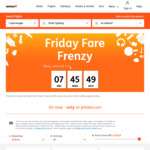 Jetstar Friday Frenzy: Flights from $45 eg Hobart to Melbourne, MEL to Christchurch $130, SYD to Fiji $165, Bali $209 and More