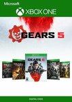 [XB1] Gears Bundle (Gears of War 1 to 5) for AU $29.19 (Was $230.09) @ Cdkeys (Digital Download)