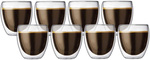 Bodum Pavina Double Wall Glasses 250ml Pay for 6 Get 8 Pack $39 (+ Delivery) @ Peter's of Kensington
