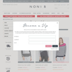 Selected Knitwear Reduced to $9 + Free Delivery Over $100 @ Noni B