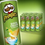 Pringles Original/BBQ/Sour Cream & Onion/Salt & Vinegar, 12 Pack (12x 134g) $24.9 + Shipping ($0 with Prime/ $39 Spend) @ Amazon