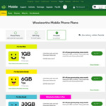 365-Day Pre-Paid Phone Plan (Unlimited Call & Text, 84GB Data) $150 @ Woolworths Mobile (Online, Stacks with 10% off Groceries)