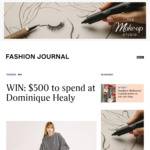 Win a $500 Dominique Healy Voucher from Fashion Journal