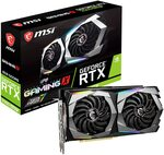 MSI GeForce RTX 2060 SUPER 8 GB GAMING X Video Card $539 Shipped @ AZ eShop via Amazon AU