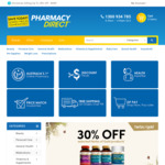 $5 off Plus Free Shipping on Orders over $30 @ Pharmacy Direct