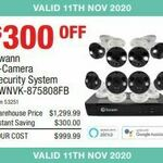 Swann 8-Camera Security System SWNVK-875808FB $999.99 @ Costco (Membership Required)