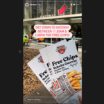 [NSW] Free Hot Chips from 11:30am-3:30pm Today (16/12) @ Schnitz (Gateway, Sydney)