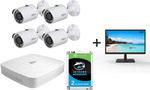 "Dahua 4x 4MP M/Bullet Camera + 4CH NVR +2TB HDD + Free 21.5"" Monitor $629 + Free Shipping @ Direct on Sale"