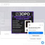 10% off Printers, 15% off Parts, 20% off Filaments - e.g. Ender 5 Pro $494.96 @ 3D Printers Online