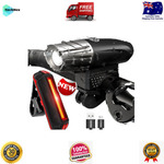 USB Rechargeable LED Bicycle Front and Rear Light Set $19.95 Delivered @ Technex eBay