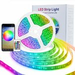 ASAKUKI 5M Decorative LED Light Strip with APP Control $28.79 (Was $35.99) + Delivery @ Asakuki via Amazon AU