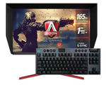 "AOC AGON 27"" 165Hz QHD 1ms G-Sync Nano IPS Gaming Monitor $799 & Bonus Logitech Gaming Gear + Shipping/Pickup @ Mwave"