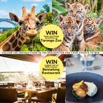 Win a Night at Bennelong Restaurant Worth $250 or 2x Annual Taronga Zoo Passes from Ray White Erskineville