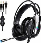 Proxima Direct 3.5MM Gaming Headset Headphone $29.59 + Delivery ($0 with Prime/ $39 Spend) @ Profits via Amazon AU