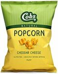 Cobs Cheddar Cheese Gourmet Natural Popcorn 100g $1.42 (Minimum 3) + Delivery ($0 with Prime/ $39 Spend) @ Amazon AU