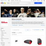 25% off Sitewide + Free Delivery @ Wilson Sporting Goods Australia eBay