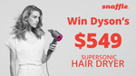 Win a Dyson Supersonic Hair Dryer Worth $549 from Seven Network