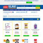 1/2 Price Vitamins (Nature's Way + More) + Delivery ($0 C&C/ $50 Spend) @ Chemist Warehouse