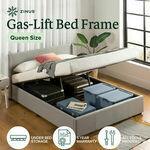 [eBay Plus] 20% off Gas Lift Bed (Queen $279.20, Double $271.20) Delivered @ Zinus eBay