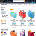 [Prime] Trunki Ride-On Suitcase $54.95 (was up to $99.95) Delivered @ Amazon AU