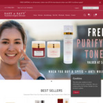 Free Face Toner (RRP $42) with Purchase of SPF15 Skin Firming Day Cream + Anti Wrinkle Luxury Cream $130 Delivered @ Sasy N Savy