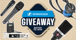 Win 1 of 5 Sennheiser or Neumann Audio Products from Derringers Music