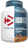 Dymatize ISO100 100% Hydrolyzed Whey Protein Isolate 2.3kg Chocolate PB $101.24 + Shipping (Free with Prime) @ Amazon US via AU