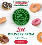 [NSW, QLD, VIC, WA] Free Delivery from 12pm-1pm @ Krispy Kreme
