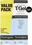 Neutrogena T/Gel Therapeutic Shampoo 200ml (Twin Pack) $14.99 @ ALDI