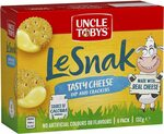 Uncle Tobys Le Snak Tasty Cheese Dip & Crackers 6 Pack $2.35 ($2.12 S&S) + Delivery ($0 with Prime/ $39 Spend) @ Amazon AU