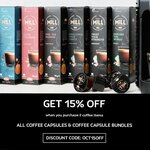 15% off When You Purchase 2 Coffee Capsule Items + $10 Delivery ($0 with $80 Order) @ K-Fee
