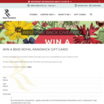 Win a Royal Randwick Gift Card Worth $500 from AMP Capital [Open Australia-Wide but Prize to Be Redeemed in Sydney]