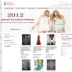 7% off for Evening Dresses and Other Formal Party Dresses