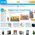 Spend $150 and Get $15 OFF! BIG W Online